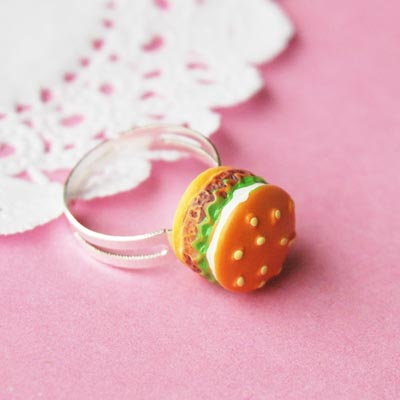 Classic Hamburger Ring 