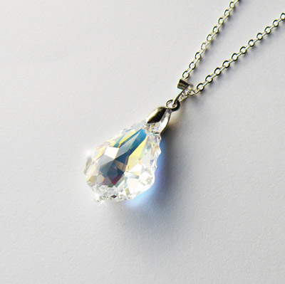 Swarovski Baroque Crystal Necklace