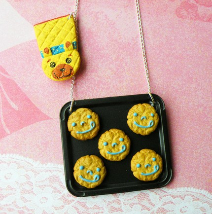 Fresh Baked Happiness - Cookie Necklace