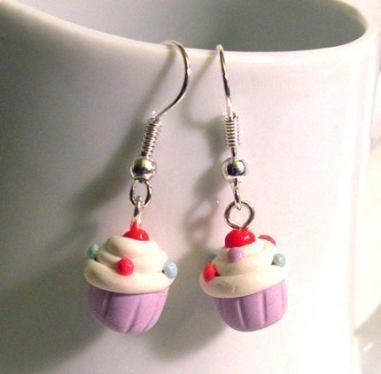 Sweet Cupcake Earrings