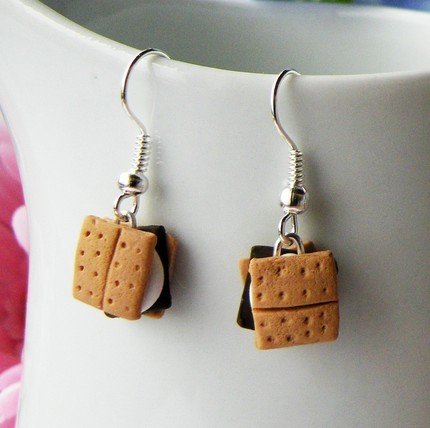 Smore Dangle Earrings