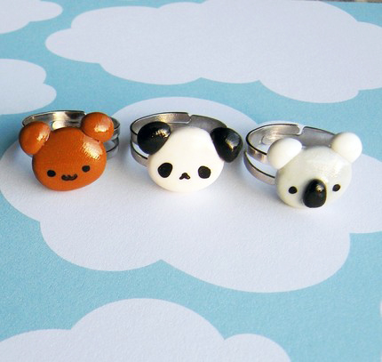 Cutie Bear Ring