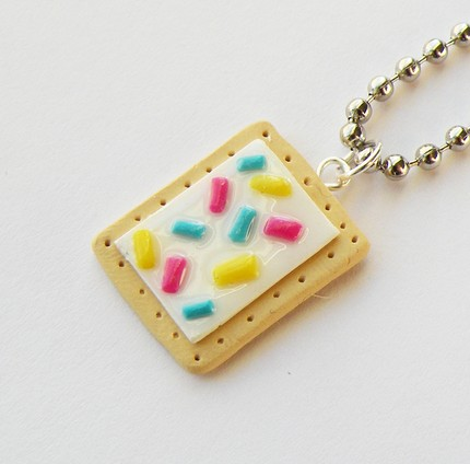 Pop Tart Necklace