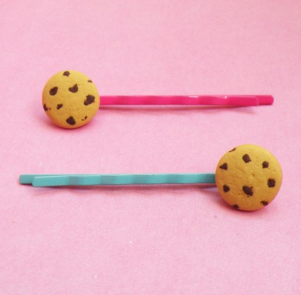 Chocolate Chip Cookies Hairclip