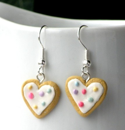 Sprinkled Sugar Cookie Earrings