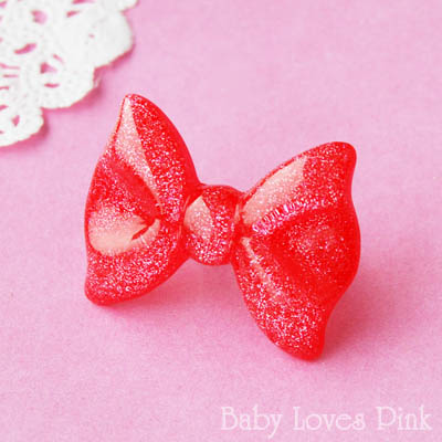 Kawaii Lolita Bow Ring