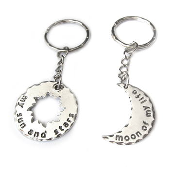 My Sun and Stars, Moon of My Life - Game of Throne inspired Couples Keychain