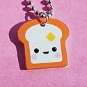 Happy Toast Necklace