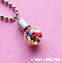 Sprinkle Candy Bauble Necklace
