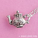 Tea Time Teapot Necklace