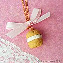 Sweet Cream Puff Necklace