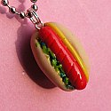 Smokie Hot Dog Necklace