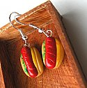 Smokie Hot dog Earrings