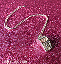 Silver Crystal Whistle Necklace