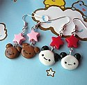 Kawaii Baby Bear Earrings