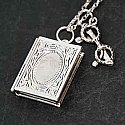 The Reader's Necklace (Book Locket)