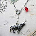 Twilight Inspired Necklace (wolf)