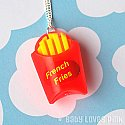Kitschy French Fries Necklace