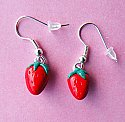 Sweet Strawberry Earrings
