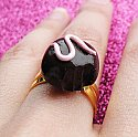 Strawberry Truffle Ring