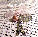 Travel to Paris Necklace