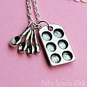 Muffin Pan Baking Necklace