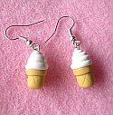 Soft Serve Icecream Earrings