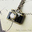 Mini Camera Locket Necklace