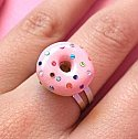 Sparkly Donut Ring