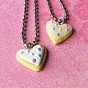 Sprinkled Sugar Cookie Necklace