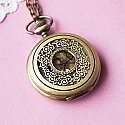 Romantic Pocket Watch Necklace