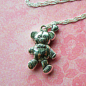 Lovely Teddy Bear Necklace