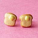 Toast Stud Earrings